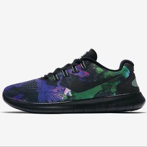 Nike Womans Free Run 2017 Solstice Sneaker | 8